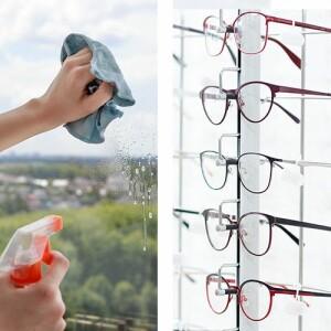 Glas, Brillen, Bildschirme
