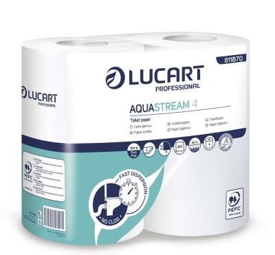 Lucart AQUASTREAM - Selbstauflösendes Toilettenpapier
