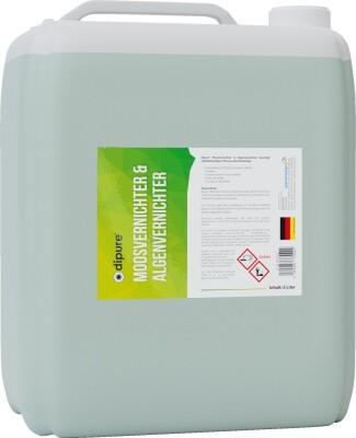 dipure® Moosvernichter & Algenvernichter 5 Liter