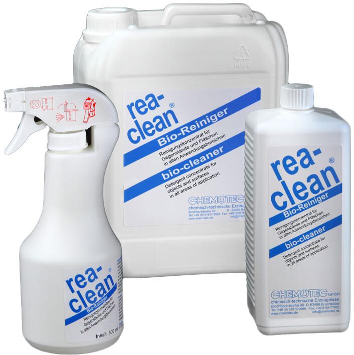 rea-clean® Bio Reiniger in verschiedenen Gebindegrößen