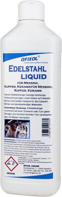Edelstahlreiniger Liquid 500 ml Kunststoffflasche